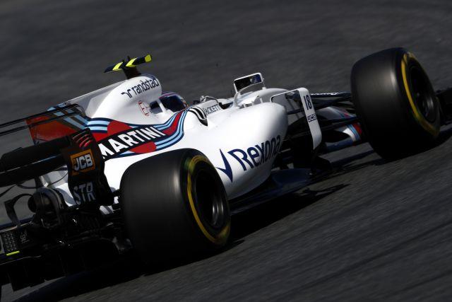 Lance Stroll, Williams FW40 Mercedes.
