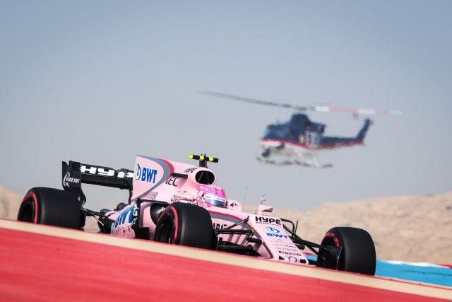 Esteban Ocon (FRA) Sahara Force India F1 VJM10. Bahrain Grand